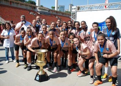 Copa SP-14: garotas da Aricanduva/Vila Formosa vencem a primeira disputa feminina do campeonato