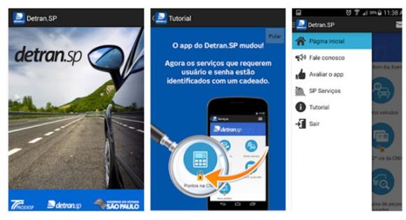 Aplicativo do DETRAN-SP  permite solicitar 2ª via da  carteira de motorista