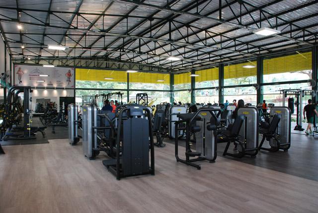 Espaço Harmonia: nova academia de musculação da AOPM conta com equipamentos  de última geração