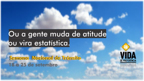 Semana Nacional do Trânsito 2016 recebe ações educativas de Detran.SP