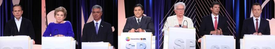 Moradia fica de fora em debate do SBT; candidatos focam em temas sensíveis à atual administração